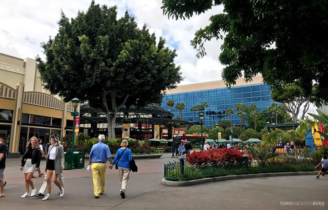 Disneyland California utenfor parken