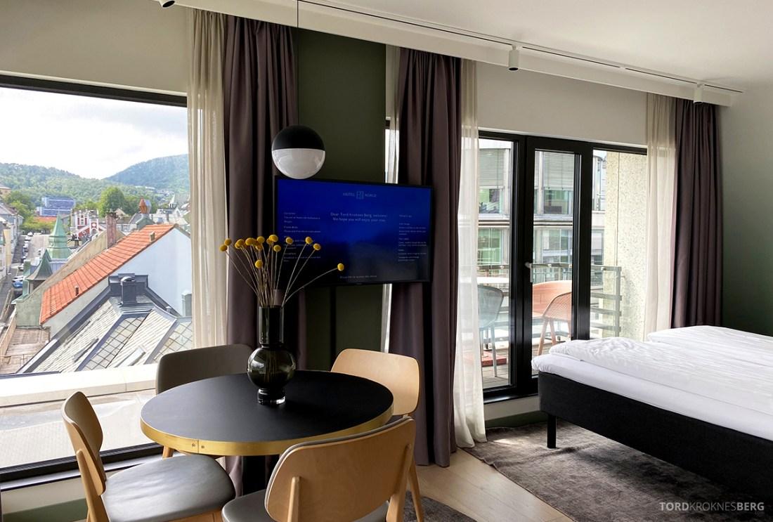 Hotel Norge by Scandic Bergen soveværelse