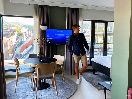 Hotel Norge by Scandic Bergen Tord Kroknes Berg suite