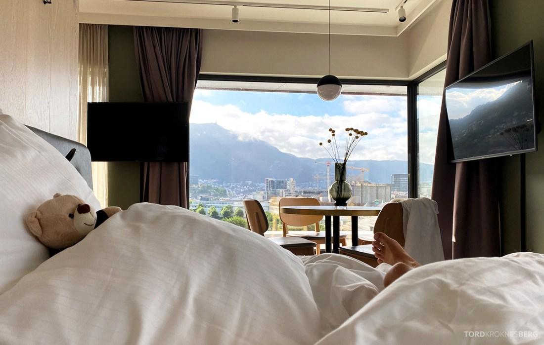 Hotel Norge by Scandic Bergen seng morgen