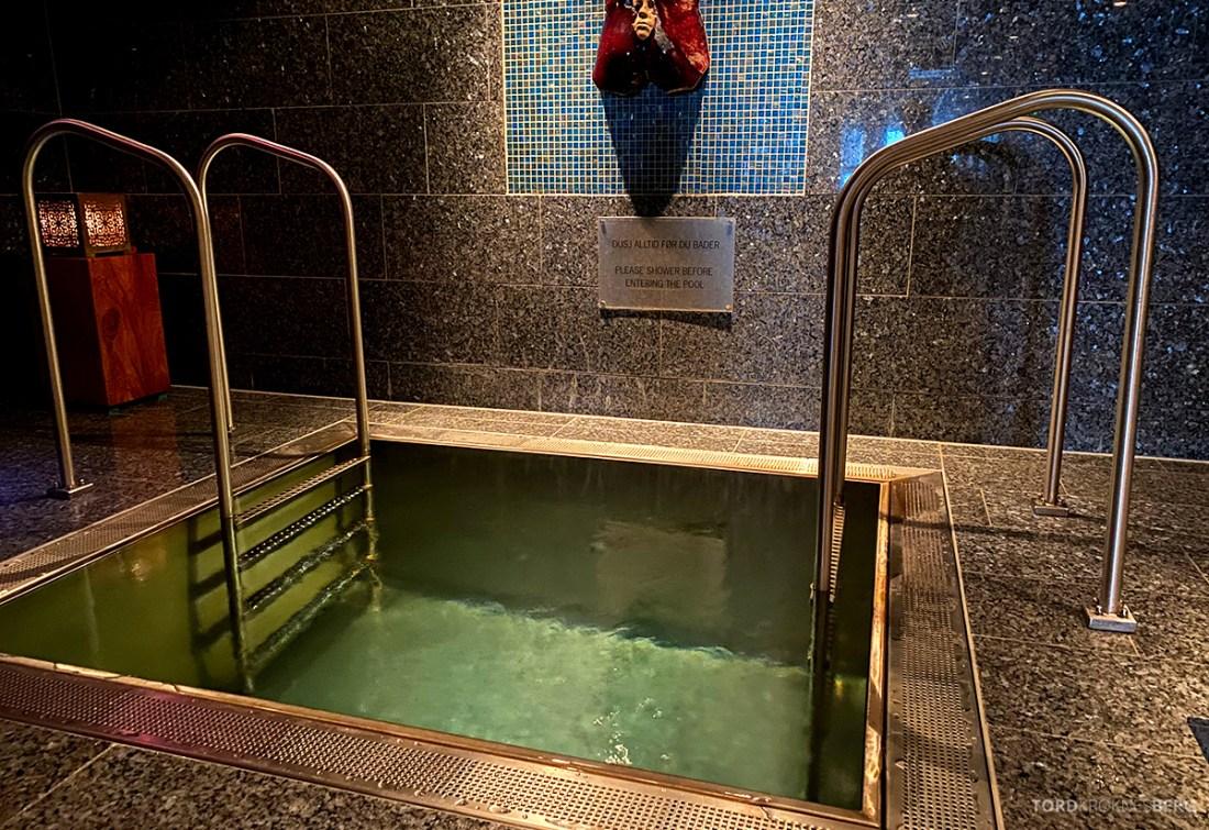 Farris Bad Larvik spa kaldt vann