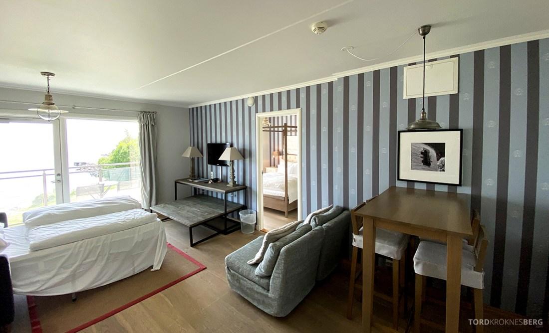 Strand Hotel Fevik oversikt leilighet