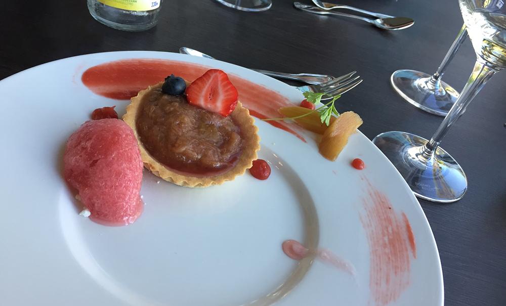 Strand Hotel Fevik dessert
