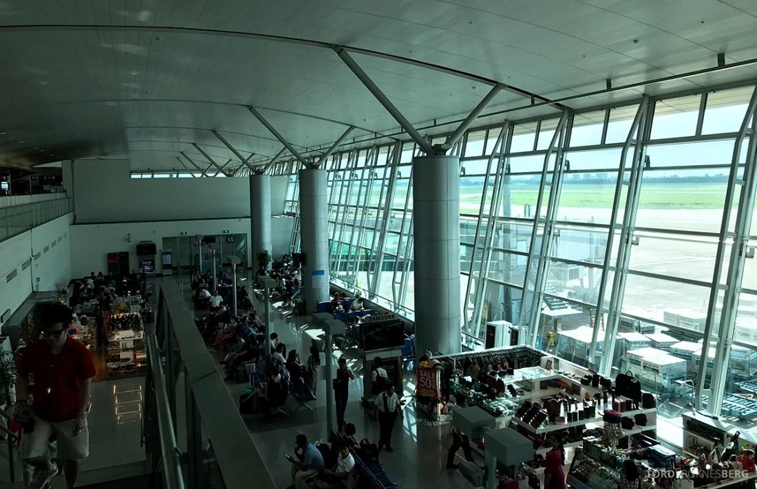 Vietnam Airlines Economy Class Ho Chi Minh City Phnom Penh flyplass