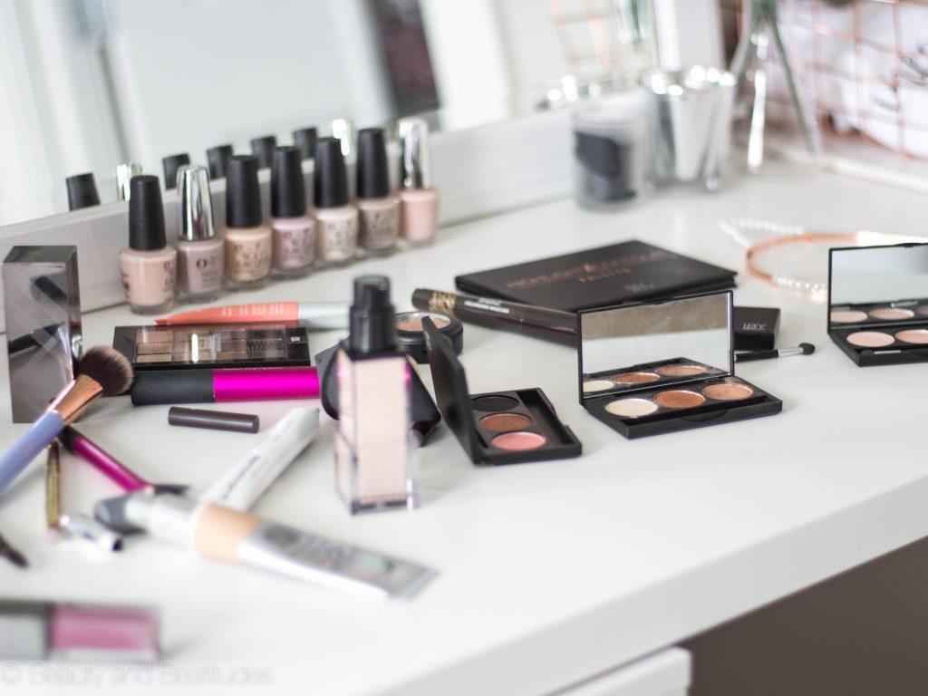 Fall Makeup Look   Bronze Eyes + Purple Lips