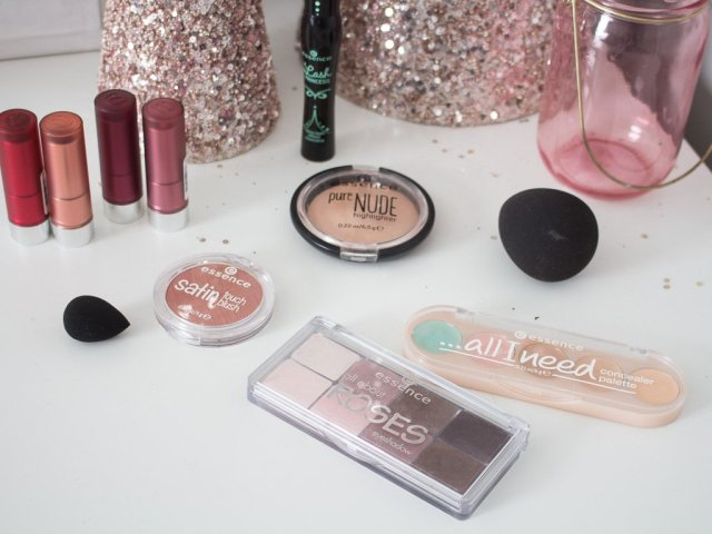 Holiday Makeup Look with Essence