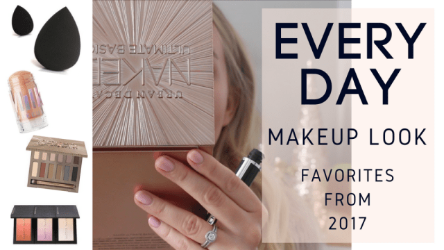 Everyday Makeup | Favorites from 2017