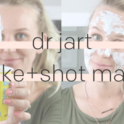 Dr Jart+ Shake + Shot Masks