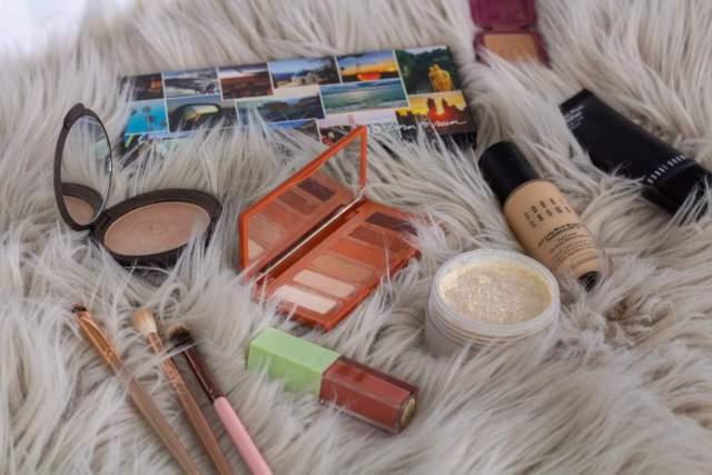 Orange Makeup Look For Fall