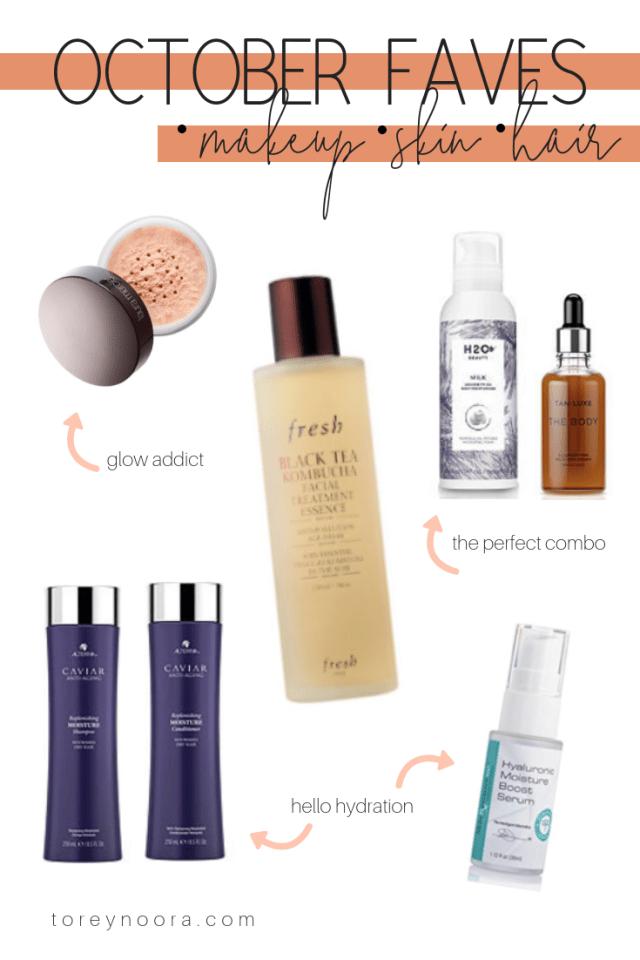 October Favorites +Big Makeup Giveaway
