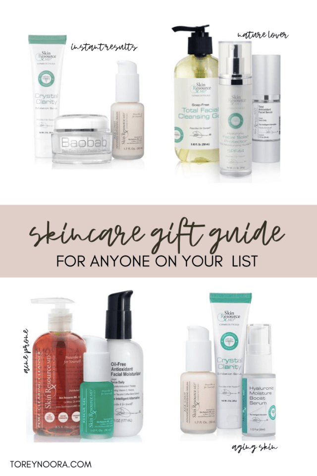 Skincare Gift Guide for Anyone on Your List