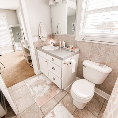 Spring Clean With Me | Bathroom
