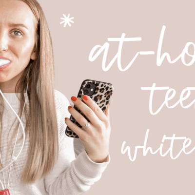 How I Whiten my Teeth at Home | GLO Science
