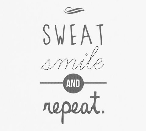 7-30 Sweat and smile