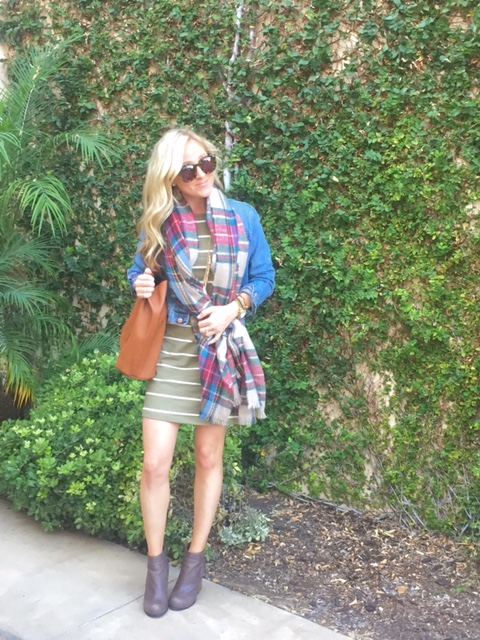 10-12 Green Stripes and Plaid 5