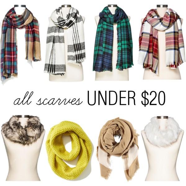11-17 scarves under 20