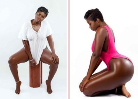 Prin2 - Gambia Actress, Princess Shyngle Flaunts Her Hot Curves(Photos)