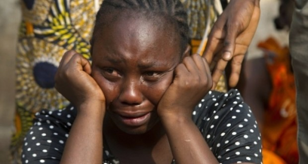 Image result for crying nigerian lady
