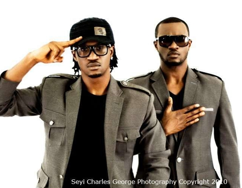 PSQUARE Heartbreaking Video Showing Peter, Paul & Jude Okoye Shouting and Almost Fighting Each Other at Their Lawyers Office