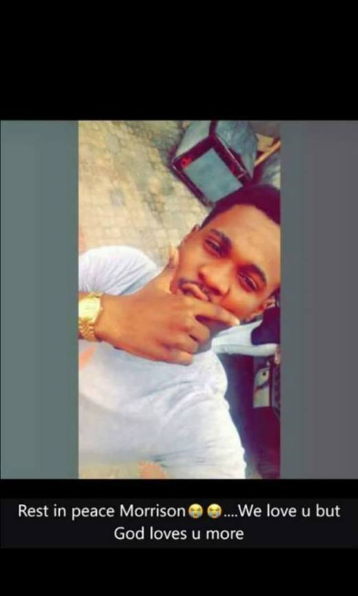 """Morrison 04 - Male Student Of Caleb University Was """"Beaten To Death By His Baby Mama"""" (Photos)"""