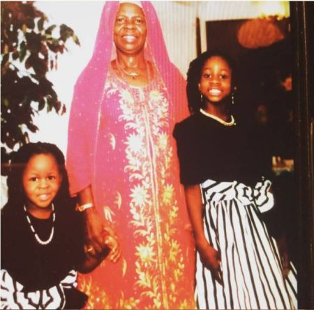 #BB NAIJA : Years Back Photo Of Anto, Her Mother And Sister