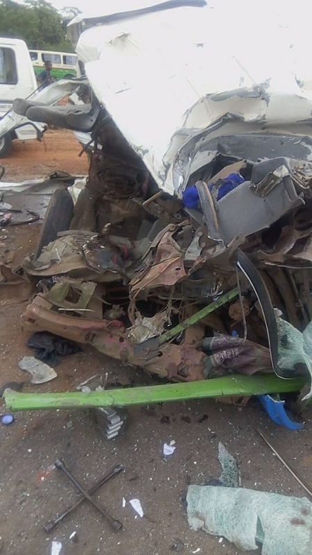 See Photos of Fatai Accident That Happened In Enugu State