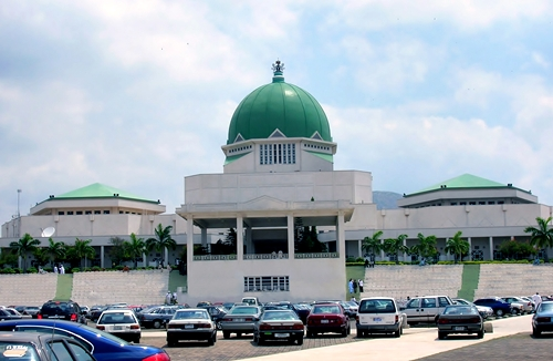 National Assembly Stormed by Protesters ,Steal The Senate's Mace