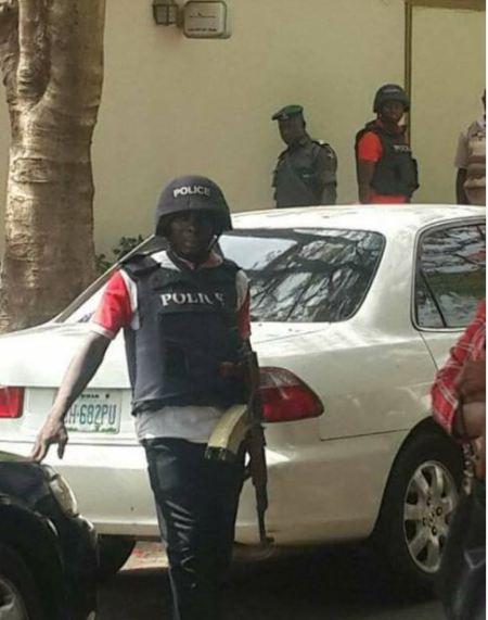 Police Stormed Dino Melaye's House