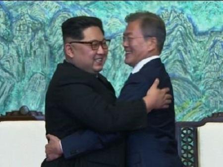 Kim Jong Un and Moon Jae Meets Again After a long time