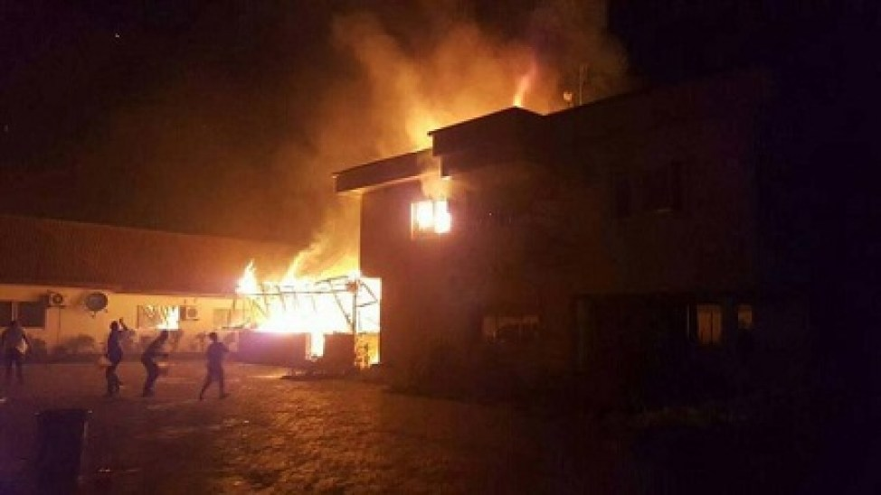 Image result for Man sets girlfriend's house ablaze in Abuja