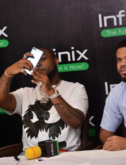 Davido Abuses Ambassadorial Role At Infinix Mobile, 'Advertises' For iPhone On Instagram
