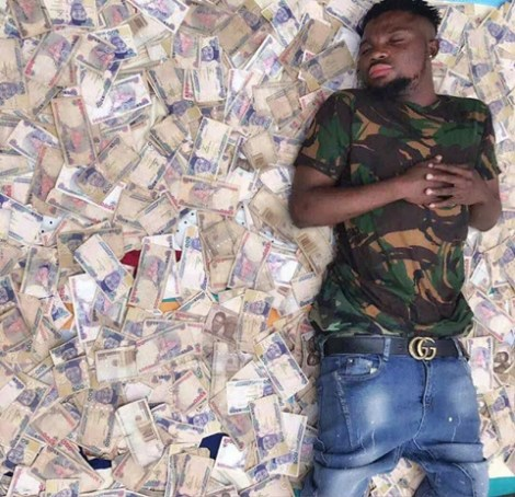 It Hurts Me When People Call Me A Ritualist – Nigerian Man Who Sleeps On Money