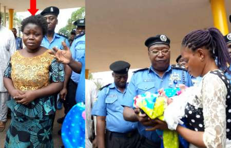 Married Woman Arrested in Osun State for kidnapping 3-Week-Old Baby In Osun, (Photo)