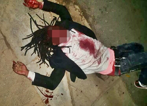 Image result for Nigerian Man Killed In South Africa After Being Shot 5 Times. Photo