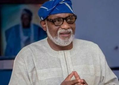 Image result for We've Been Loyal To Our Promise Not To Owe Workers' Salary, Says Akeredolu