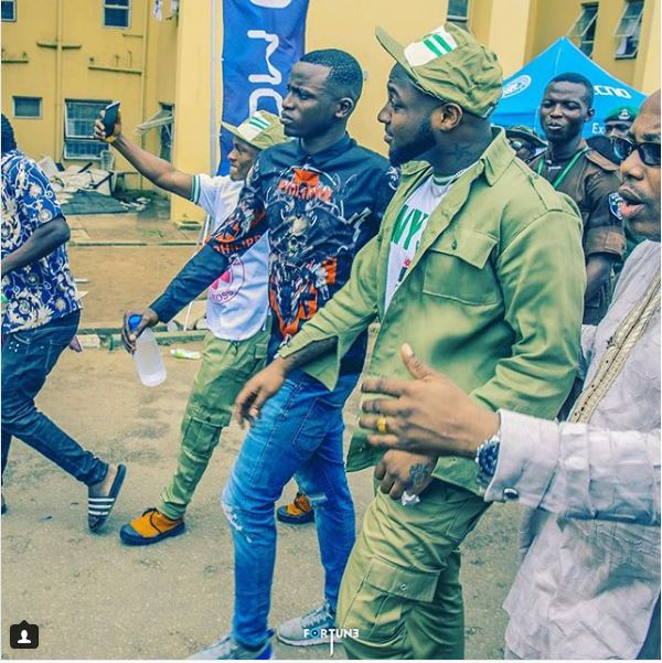Davido's P A, Aloma, Sternly Warns SARS To Stay Away From Them