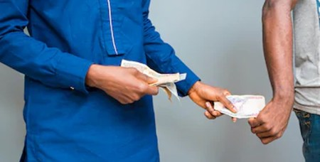Bribe taking officials