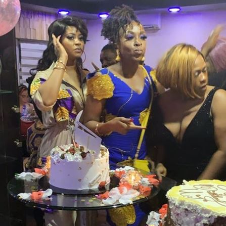 Uche Jombo's birthday