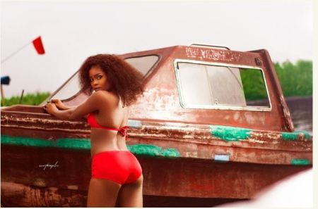 Newly Crowned Miss Tourism Africa Releases Official Photos In Bikini 4