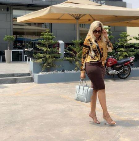 Ghanaian Actress, Juliet Ibrahim Flaunts Protruding Bum In Latest Photos 2