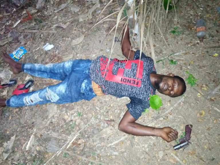 Image result for Notorious Nigerian gang leaders killed during gunfire in Cameroon (Graphic photos)r