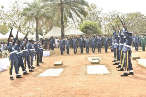 Photos From The Funeral Of 5 Nigeria Air Force Personnel Killed In Borno Helicopter Crash 8