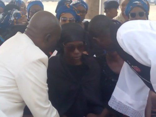 Photos From The Funeral Of 5 Nigeria Air Force Personnel Killed In Borno Helicopter Crash 6