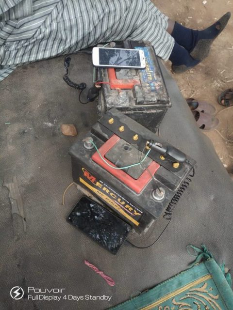 See How This Man Now Charges His Phone Due To Incessant Power Outage In Katsina (Photos) 1
