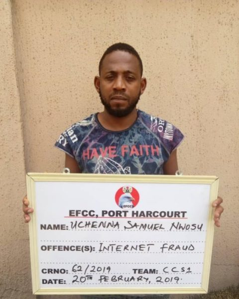 Yahoo Boy Jailed 6 Months For Duping American $500 (Photo) 2