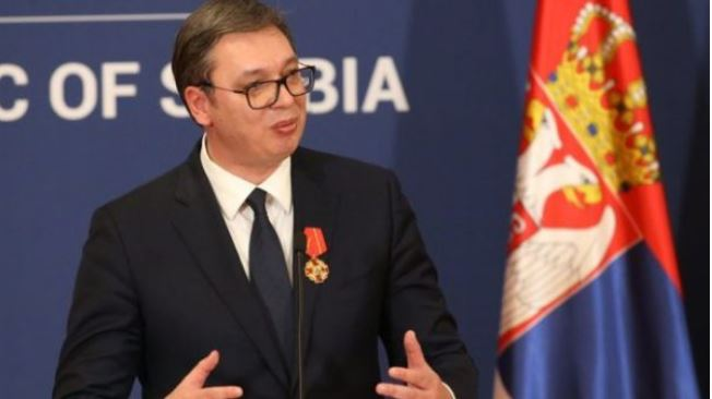 """Serbian President Aleksandar Vucic Said On Wednesday That His Son Was Hospitalised After Contracting The Novel Coronavirus. """"my Firstborn Is Infected By The Coronavirus And His Clinical Condit"""