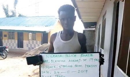 Blessing Adedeji arrested