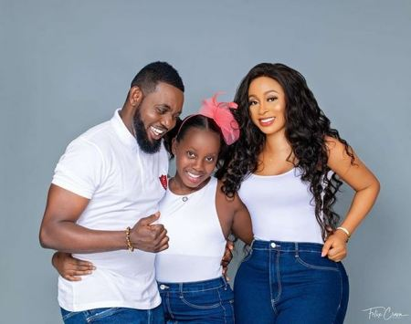 AY, his wife, Mabel and their daughter