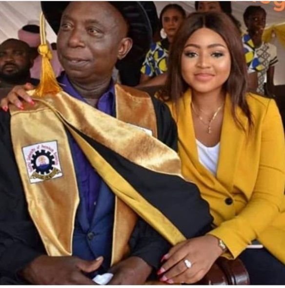 Regina Daniels and husband, Ned Nwoko