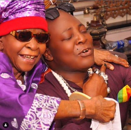 Charly Boy's mother
